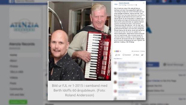 Dansbandsprofilerna Berth Idoff och sonen Marcus döda