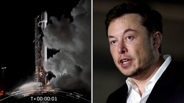 Elon Musks projekt Starlink ska förse hela jorden med höghastighetsinternet