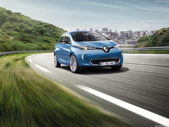 Renault Zoe – som författare.