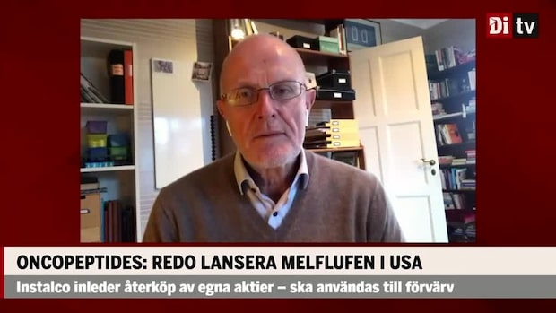 Anders Rudolfsson, DNB, ser rejäl uppsida i Oncopeptides