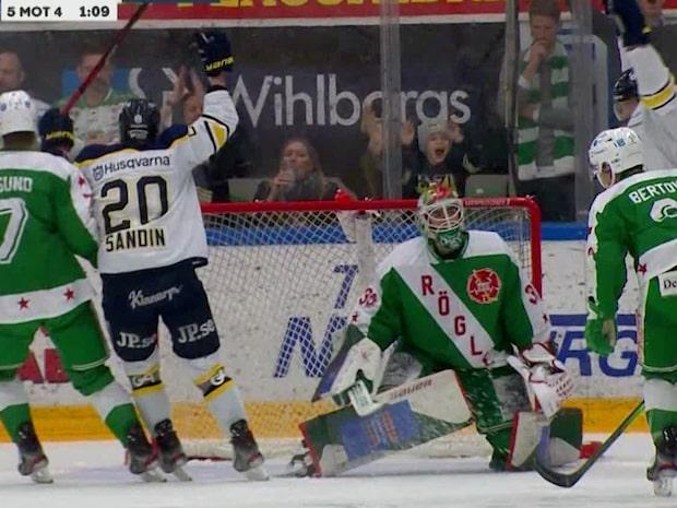 Höjdpunkter: HV71 vann igen - efter fem raka förluster