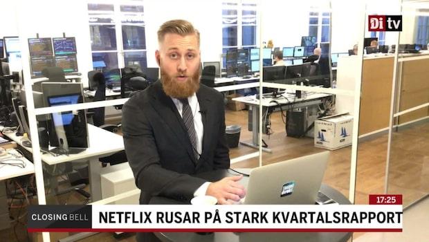 "Nilsson: ""Surt i USA, men Netflix rusar"""