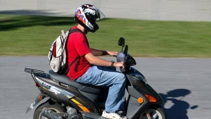 försäkra moped