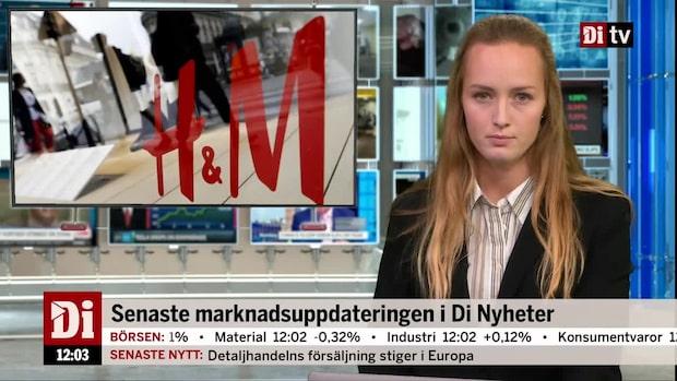 Di Nyheter: Rapporterande H&M tar täten på börsen