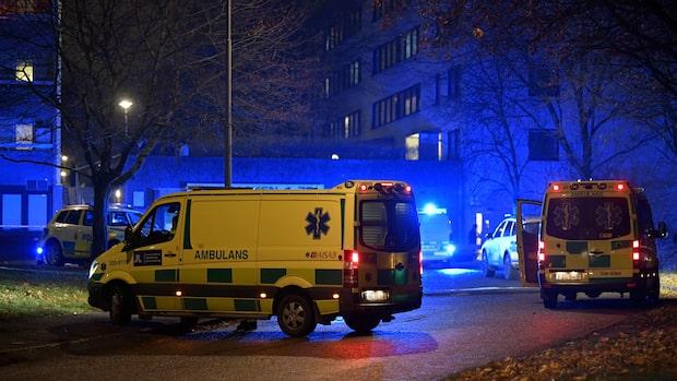 Två personer skjutna i Hallonbergen
