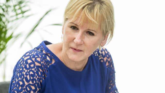 Socialdemokraterna skickar ut sin starkaste företrädare - utrikesminister Margot Wallström - på en Sverigeturné. Foto: Christian Örnberg