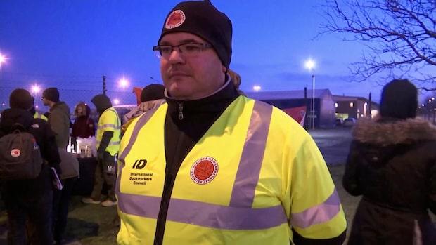 Därför går hamnarbetarna ut i strejk