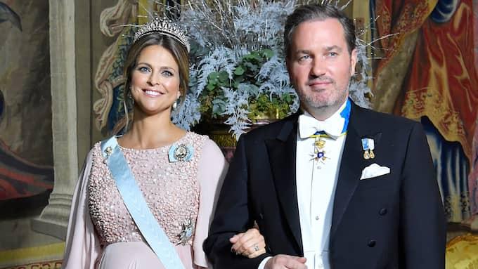 Prinsessan Madeleine och Chris O'Neill har fått barn igen. Foto: KARIN TÖRNBLOM / IBL BILDBYRÅ