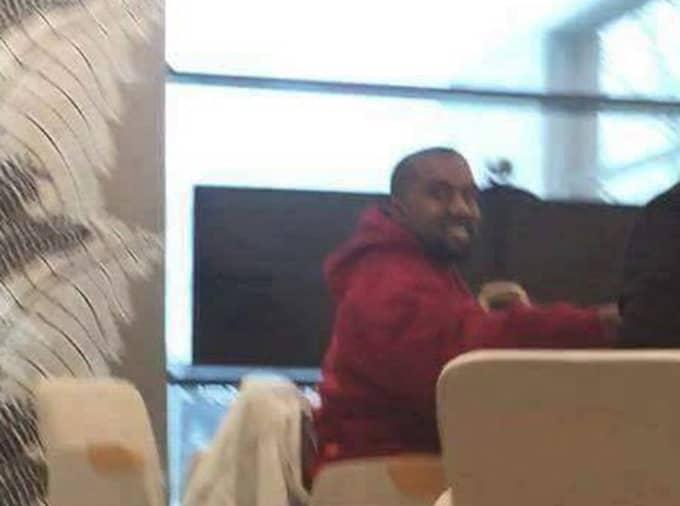 Kanye West på Ikea.