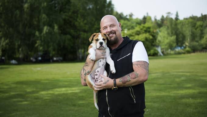 Anders Bagge älskar djur. Foto: TV4 / TV4