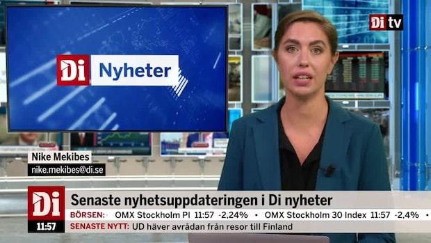 Di Nyheter: Regeringens höstbudget presenterad
