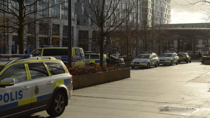 Polisen i Malmö. Foto: Fritz Schibli