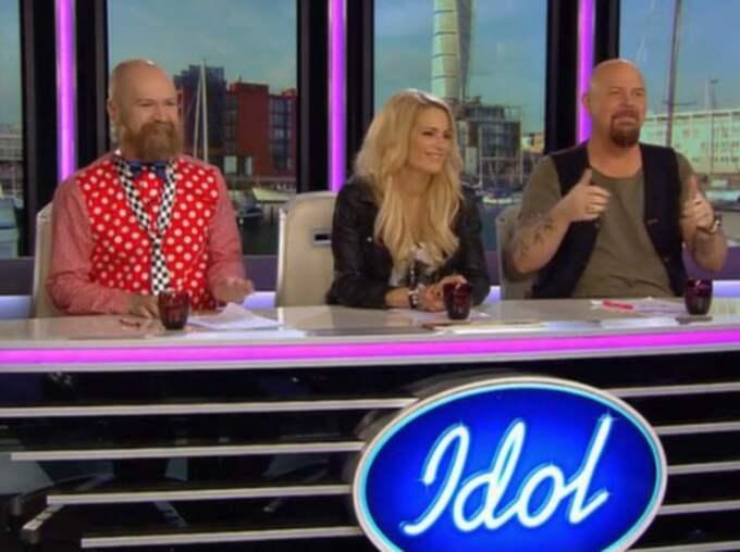"""Efteråt konstaterar Anders Bagge att han ser Amanda Aasa som topp fem i """"Idol""""."""