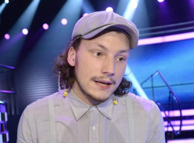 "Jens Hult tvingades lämna ""Idol"". Foto: Olle Sporrong"