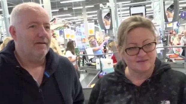 Shoppingsugna norrmän väller in i Värmland