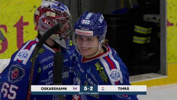 Höjdpunkter: Oskarshamn-Timrå