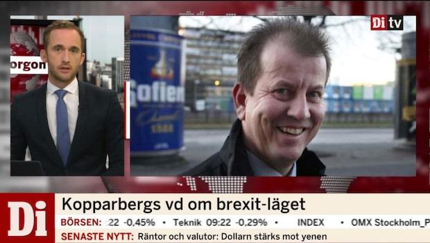 Kopparbergs vd om brexit-läget