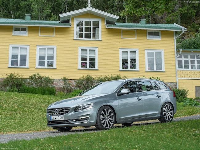 Förra versionen av Volvo V60 är även den möjlig att provköra på hemmaplan.