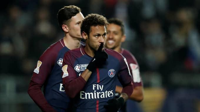 Neymar. Foto: BENOIT TESSIER / REUTERS BILDBYRÅN