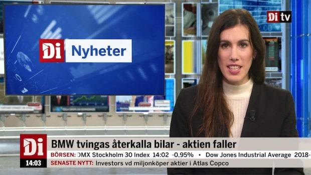 Di Nyheter 14.00 23 okt - BMW tvingas återkalla bilar