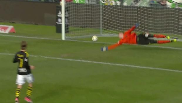 Highlights: J Södra-AIK 2-1
