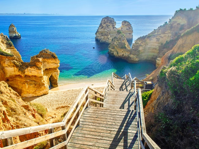 Tack vare Algarve-kusten kan Portugal titulera sig som Europas ledande stranddestination.