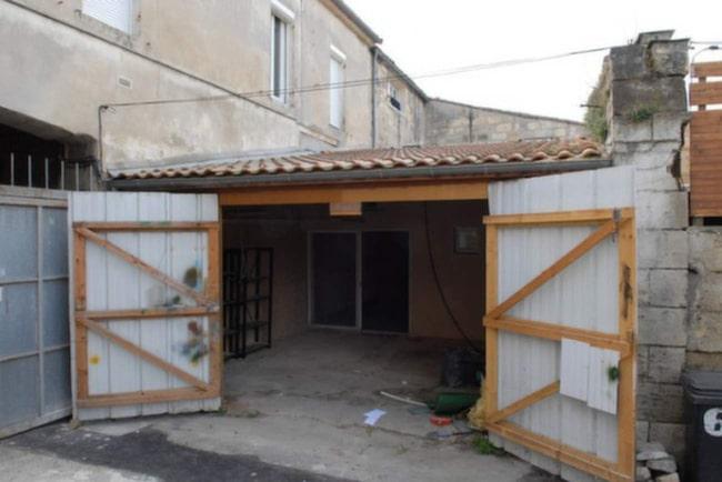 Det här garaget såg inte mycket ur för världen när Jérémie Buchholtz köpte det. Men han hade stora planer för det.
