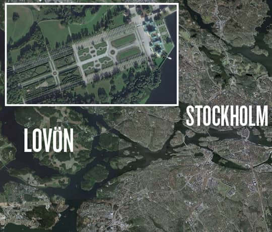 sjöpaviljongen drottningholm