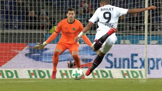 Höjdpunkter: Hannover-Leverkusen