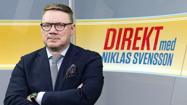 Direkt med Niklas Svensson - se hela programmet 24/10 2019