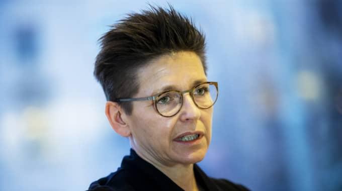 S-ledaren i Göteborg, Ann-Sofie Hermansson. Foto: Anders Ylander