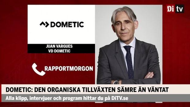 """Juan Varques vd Dometic: """"Helt annan fas än före coronapandemin"""""""