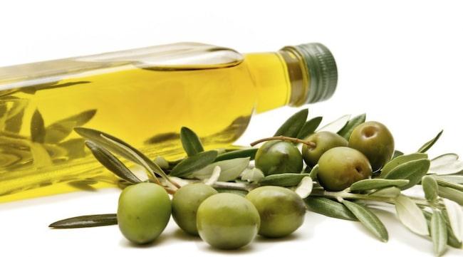 steka med olivolja