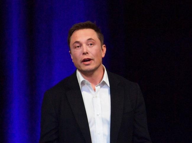 Teslas vd och grundare Elon Musk.