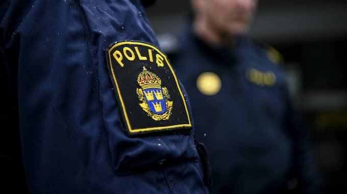Polis grep mannen vid en rutinkontroll på E18. Foto: Alex Ljungdahl