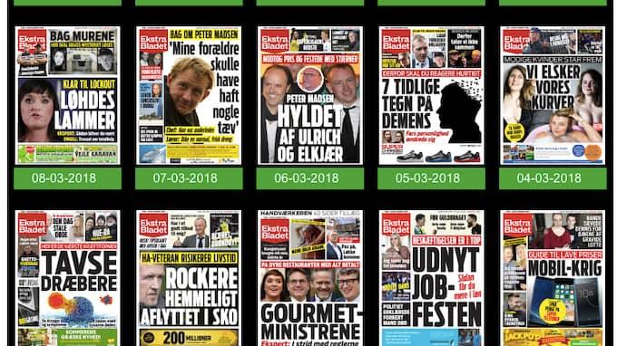 Ensam kvar som större tidning i nordeuropa att försvara de halvnakna kvinnorna på tidningssidorna blir nu danska Ekstrabladet.