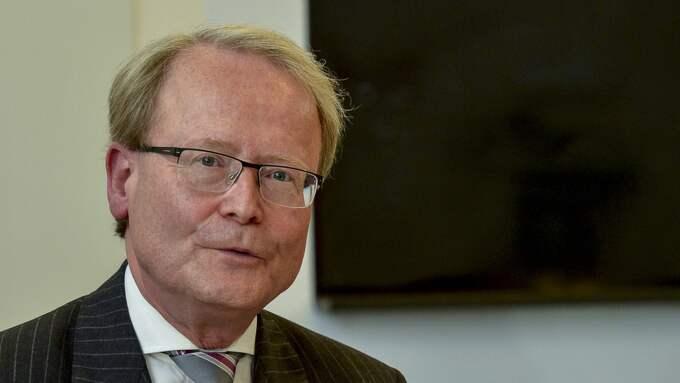 Anders Hamsten avgick som rektor på Karolinska institutet. Foto: Jonas Ekströmer/Tt / TT NYHETSBYRÅN