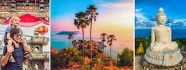Phuket – från paradisstränder till pittoreska stadsdelar