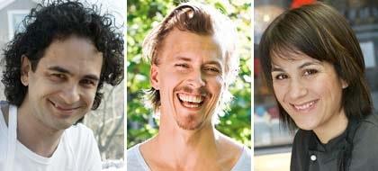 Kockarna Markus Aujalay, Paul Svensson och Alexandra Zazzi grillar gärna.