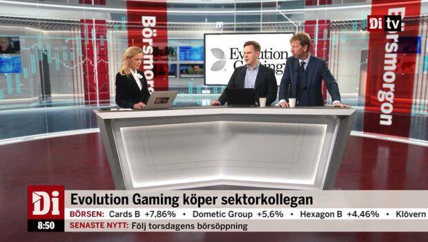 Evolution Gaming köper sektorkollegan Ezugi