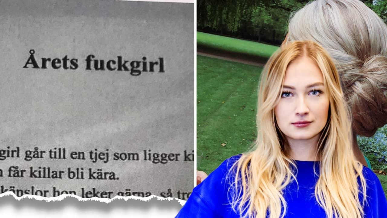 """Det """"omöjliga"""" hände – den 19-åriga tjejen som blivit kallad """"årets fuckgirl"""" stod upp för sin sak, och en jämnårig kille blev åtalad"""