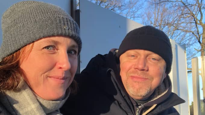 Simone Kreutzer och Tommy Wesslund. Foto: Privat