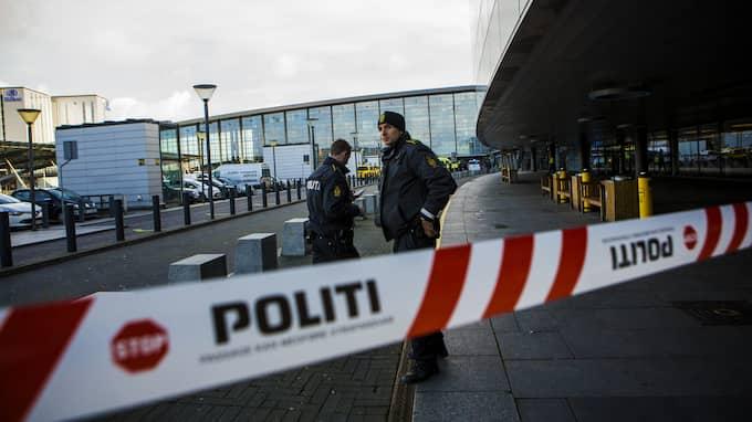 Delar av flygplatsen har spärrats av efter att ett okänt föremål anträffats. Foto: HENRIK JANSSON (Arkiv)