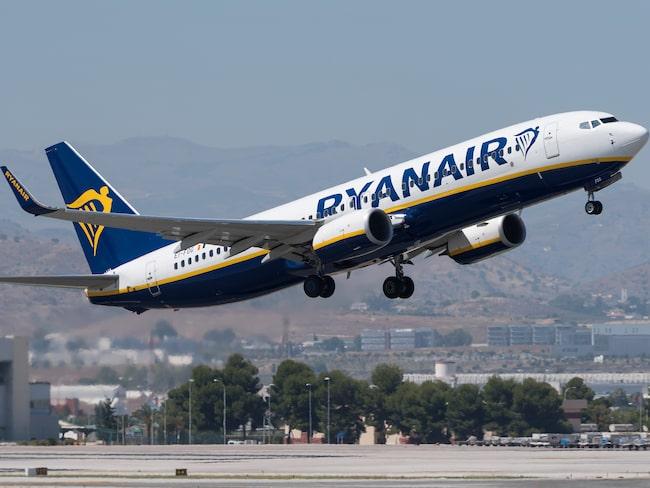 Hittills har Ryanair bara behövt ställa in 14 avgångar på grund av strejken i Spanien.