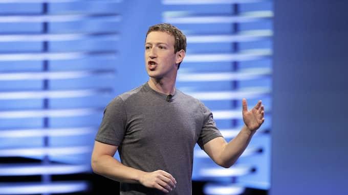 Facebook-grundaren Mark Zuckerberg. Foto: ERIC RISBERG / AP TT NYHETSBYRÅN