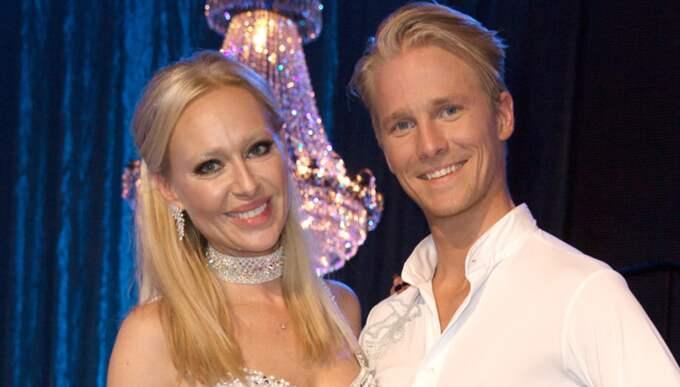 Danspartnern Fredric Brunberg är så sjuk i influensa att Isabel Adrian har fått dansa ensam. Foto: Magnus Liljegren - Ibl / IBL - SWEDEN/IBL MAGNUS LILJEGREN / GGFOTO