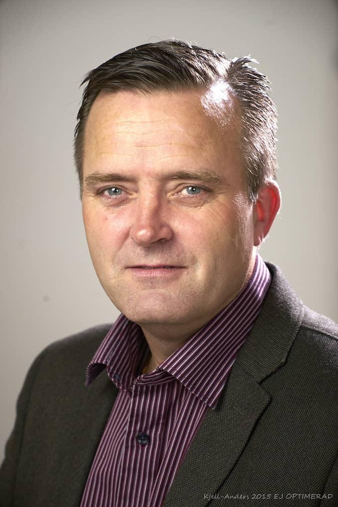 Jan Olsson vid polisens natioenalla bedrägericenter. Foto: Pressbild
