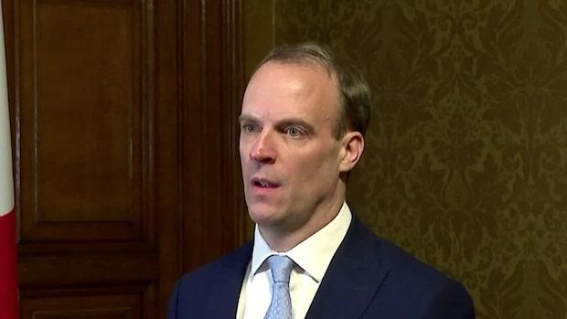 """Utrikesministern om Johnson: """"Han är i säkra händer"""""""
