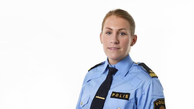 Åsa Willsund vid polisen. Foto: POLISEN
