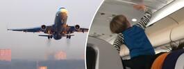 Mardrömsflygningen: Barnet skrek i åtta timmar